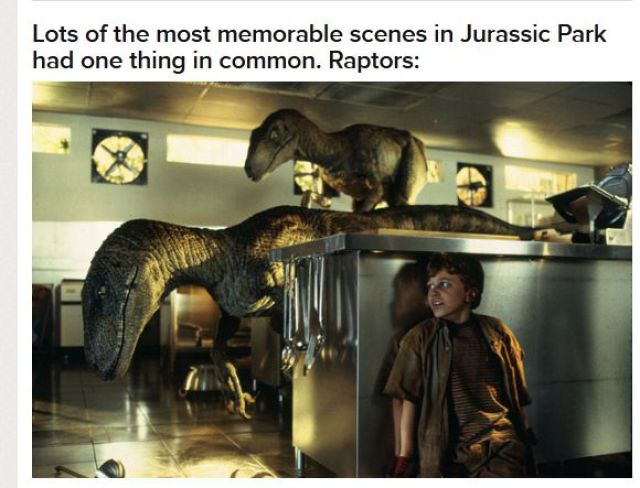 The Secret of the Jurassic Park Raptors