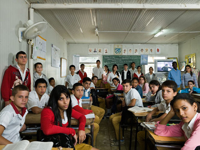 Typical School Classrooms from Around the World