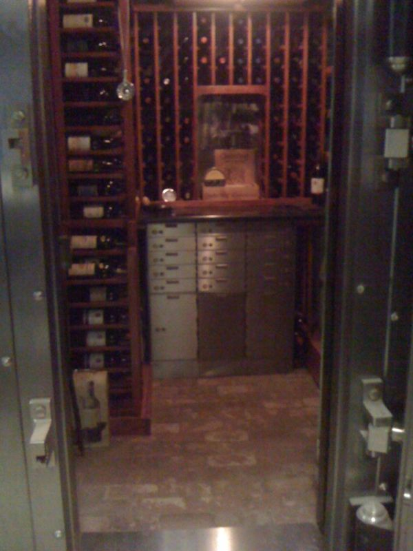 A Wine Safe for the Serious Collector