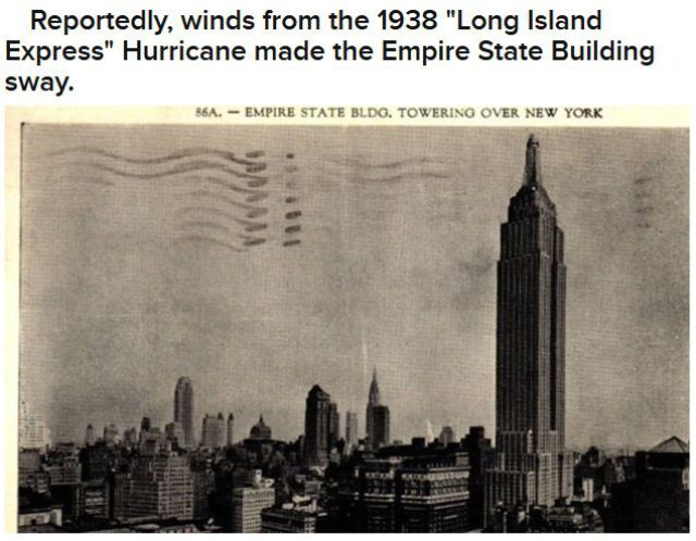 Facts You Didn't Know About NYC and Hurricanes