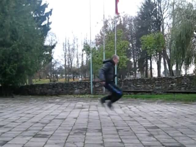 Funny Dancing Guy with Silly, Yet Skilled Moves