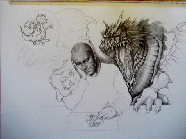 drawing by Van Laere Dirk - Belgium