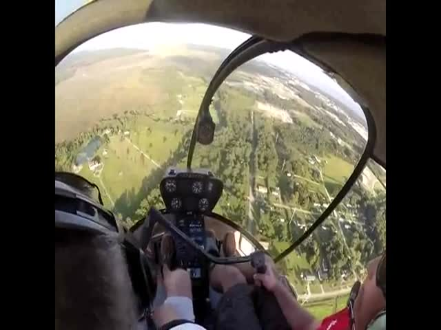Most Badass Random Act of Kindness Ever – Helicopter Style