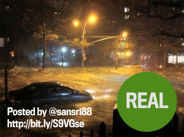 Are These Sandy Photos Real or Fake?