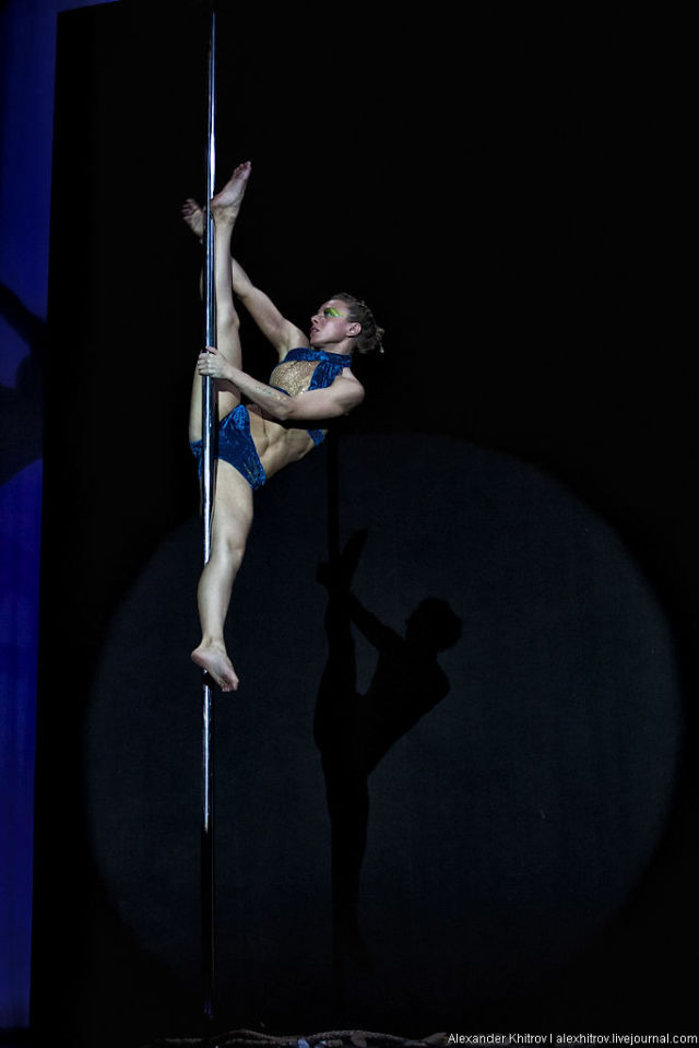 Not Your Average Pole Dancer…
