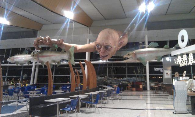 What a Creepy Choice of 'Art' For Local Airport