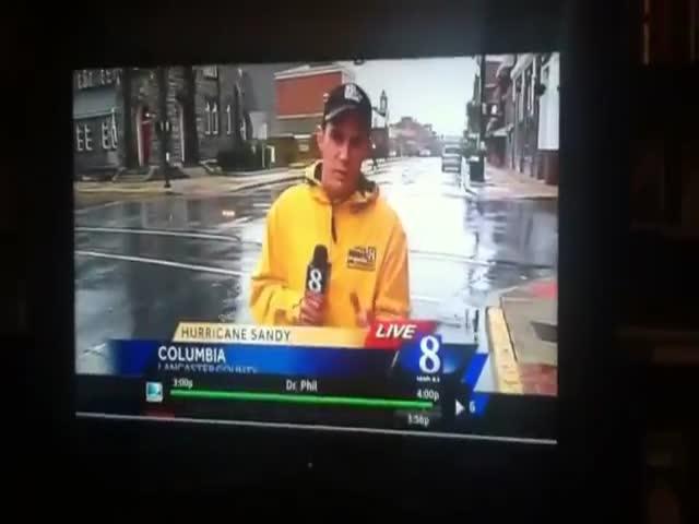 Hurricane Sandy Drifting