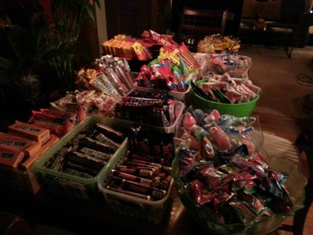 This Is What Halloween Is All About: Treats Anyone?