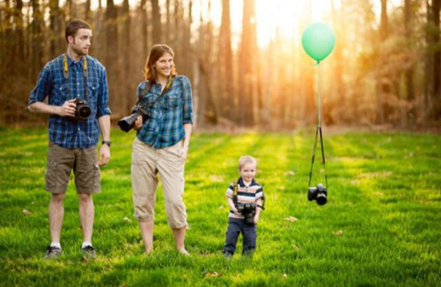 Imaginative Baby Announcements