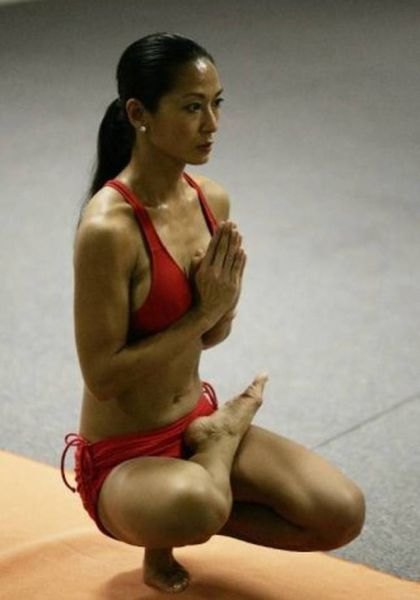 We Can't Help but Get a Kick Out of These Yoga Pics!
