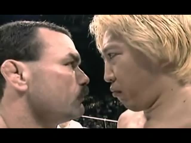 Craziest, Manliest Fight Ever – Don Frye vs Yoshihiro Takayama