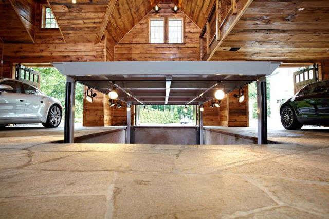 A Garage Fit for a King!