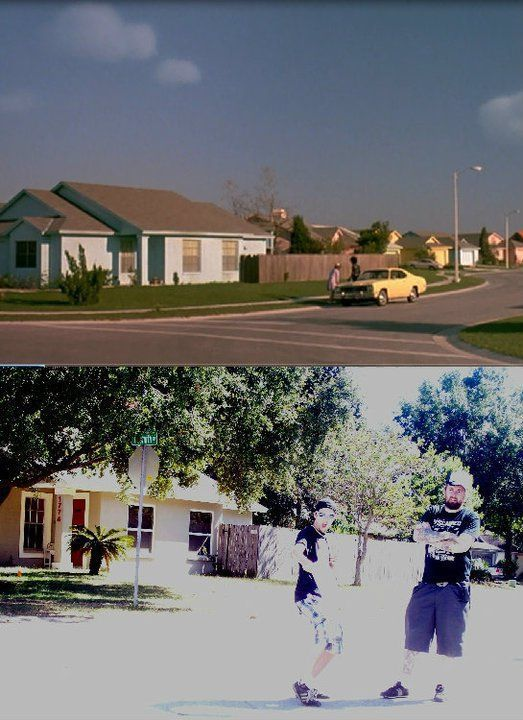 Edward Scissorhands on Location