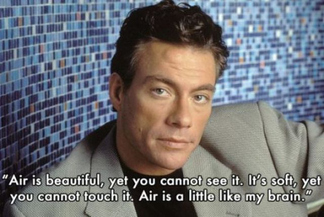 Insightful Quotes from Jean Claude Van Damme