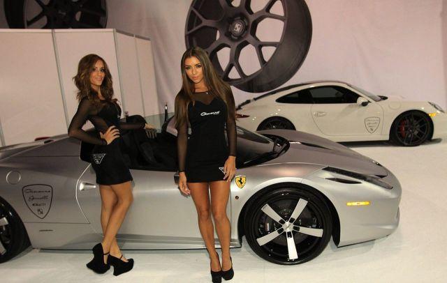 SEMA 2012 Show Girls