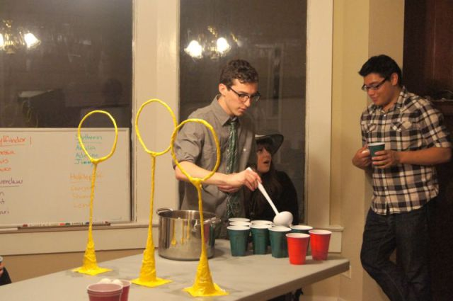 A Totally Awesome, Harry Potter Inspired Drinking Game!