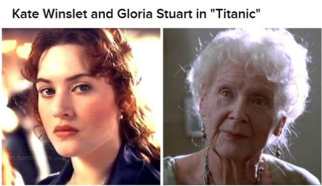 """The """"Then and Now"""" of Film Characters"""