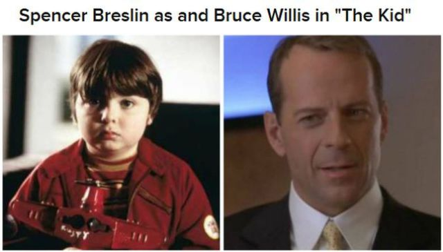 "The ""Then and Now"" of Film Characters"