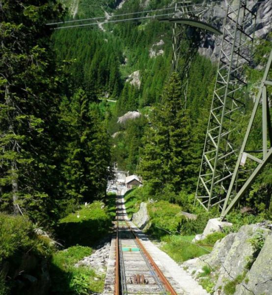 This Thrilling Mountain Ride Is a Swiss Landmark