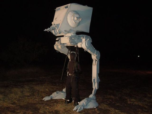 Especially for Star Wars Fans: The Coolest Costume Ever!