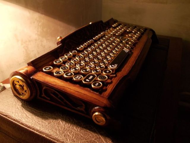 Beautiful, Handcrafted Custom Keyboard