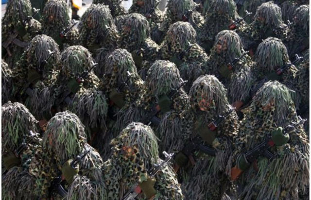 The Military Has Camouflage Covered
