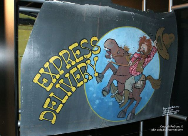 """Fun """"Nose Art"""" Adds an Artistic Touch to Aeroplanes"""