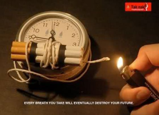 Creative Anti-smoking Ads