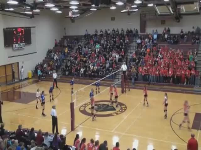 Epic Volleyball Spike