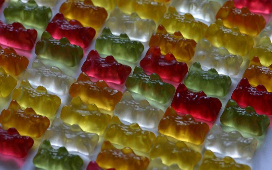 Разноцветное желе