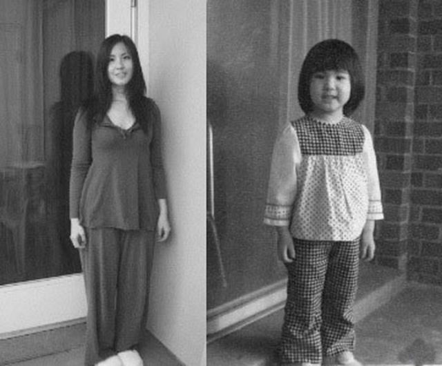"Cool ""Young Me, Now Me"" Photos. Part 2"