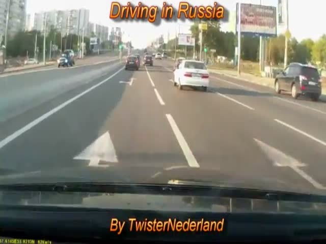 Driving in Russia – Mega Compilation