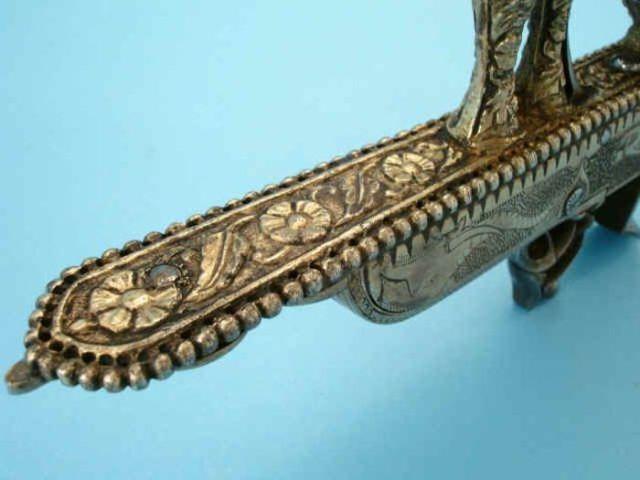 "Unusual, Indian ""Gun-Knife"""