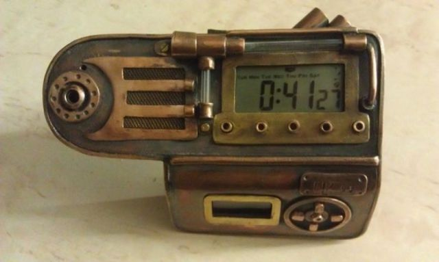 Awesome Steampunk Watch Creation