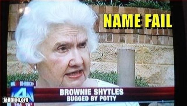 Just Imagine Having One of These Names