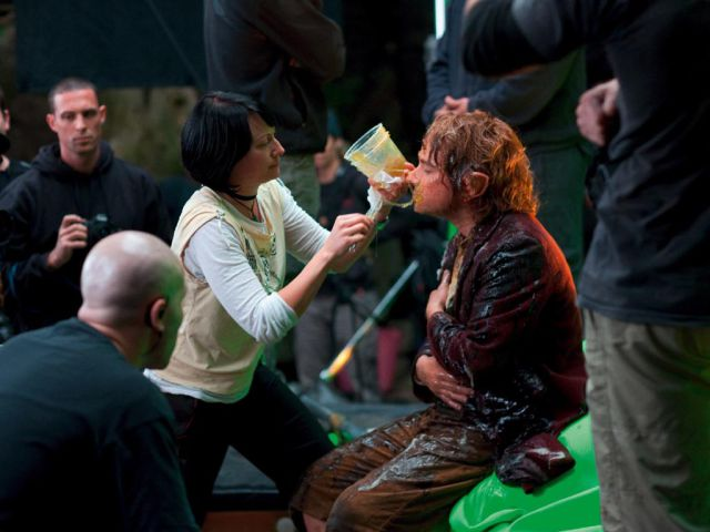 """On the Set of the Blockbuster Hit, """"The Hobbit"""""""