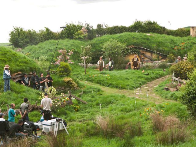 "On the Set of the Blockbuster Hit, ""The Hobbit"""
