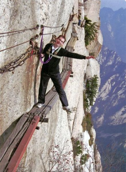 Are You Brave Enough to Attempt This Terrifying Hike?