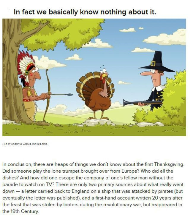 Little Known Facts About the Very First Thanksgiving