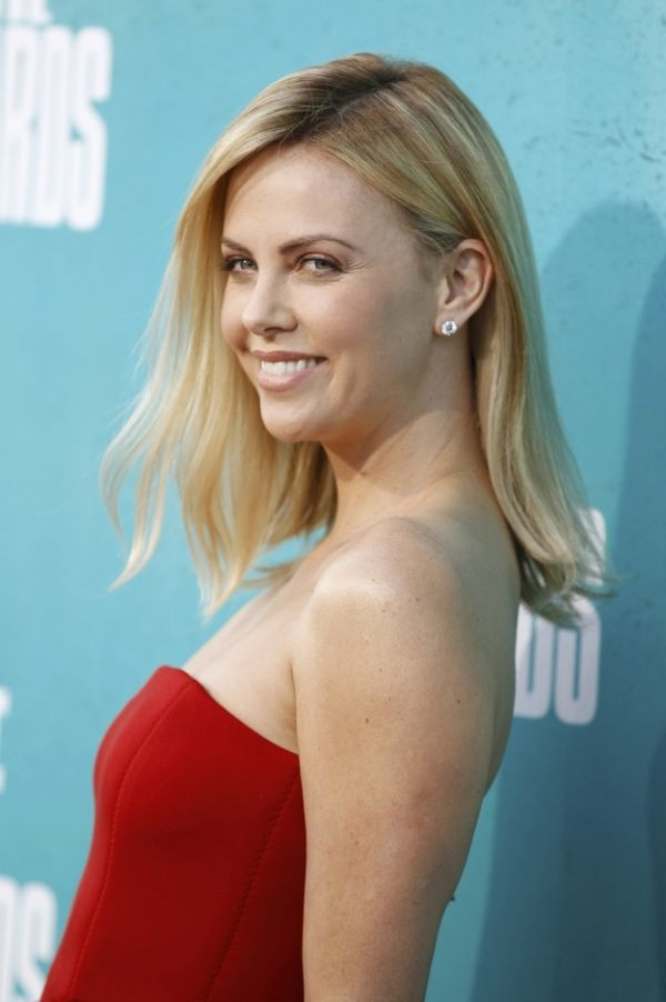 Charlize Theron's Close Shave…