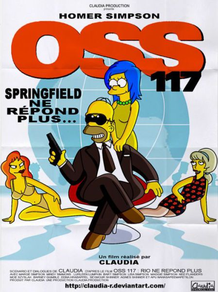 the simpsons parody some well