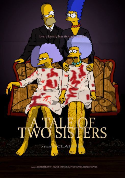 The Simpsons Parody Some Well-known Movie Posters