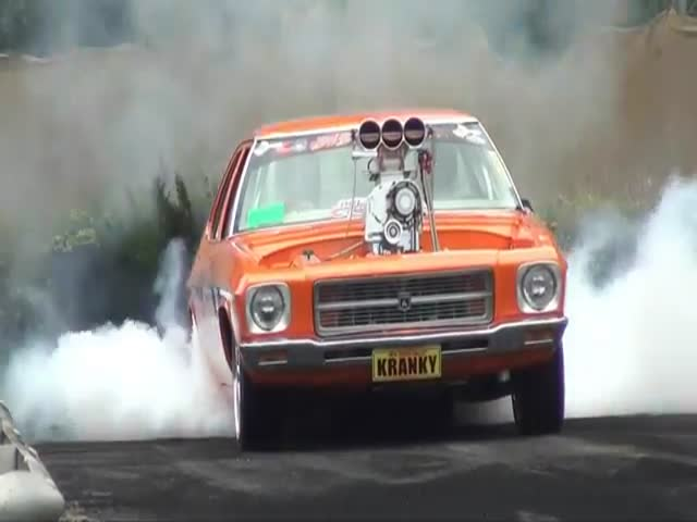Now, That Is a Crazy Burnout!