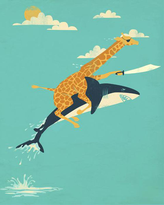 Colourful, Fun and Imaginative Art Prints