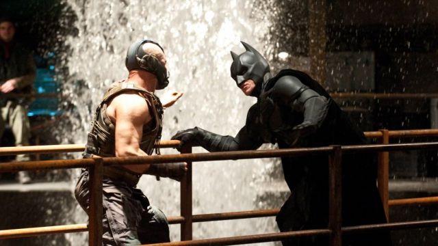 Action-packed, Behind-the-scenes Photos of the Batman vs. Bane Fight Scene