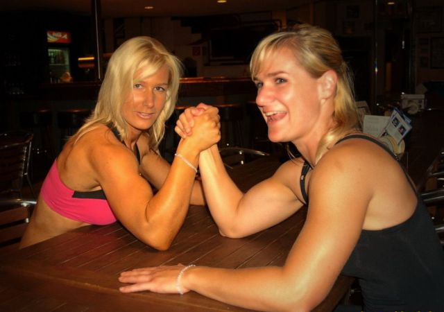 These Girls are Made of Muscle