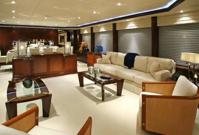This Luxurious Yacht Interior is Truly Magnificent