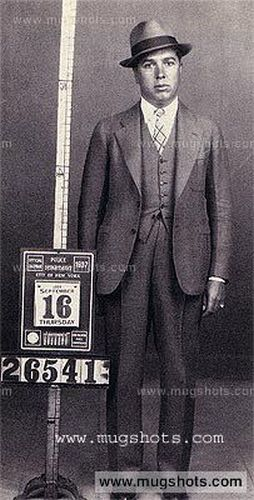"""A Collection of Mugshots of """"Real-life"""" Gangsters from the Past"""