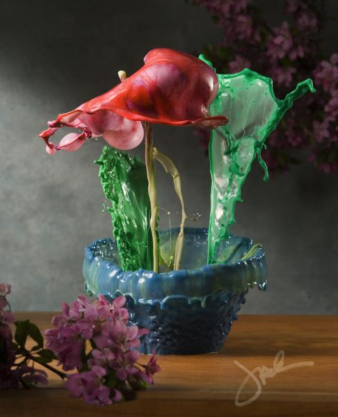 Artistic Flower Bouquets are Actually Temporary Works of Art