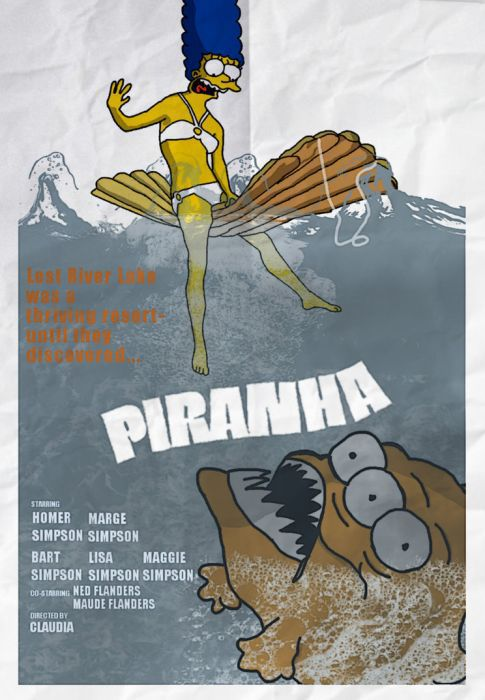 The Simpsons Parody Some Well-known Movie Posters. Part 2